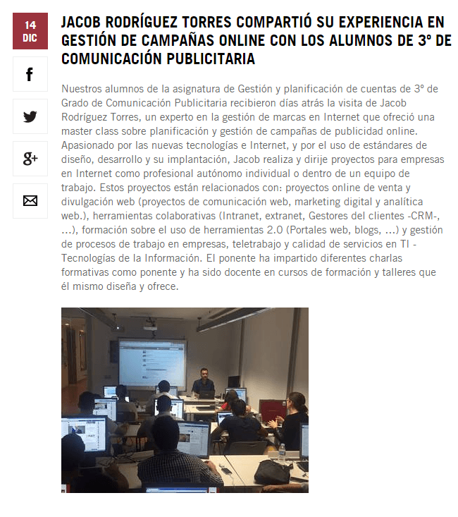Noticia - Universidad Europea de Canarias