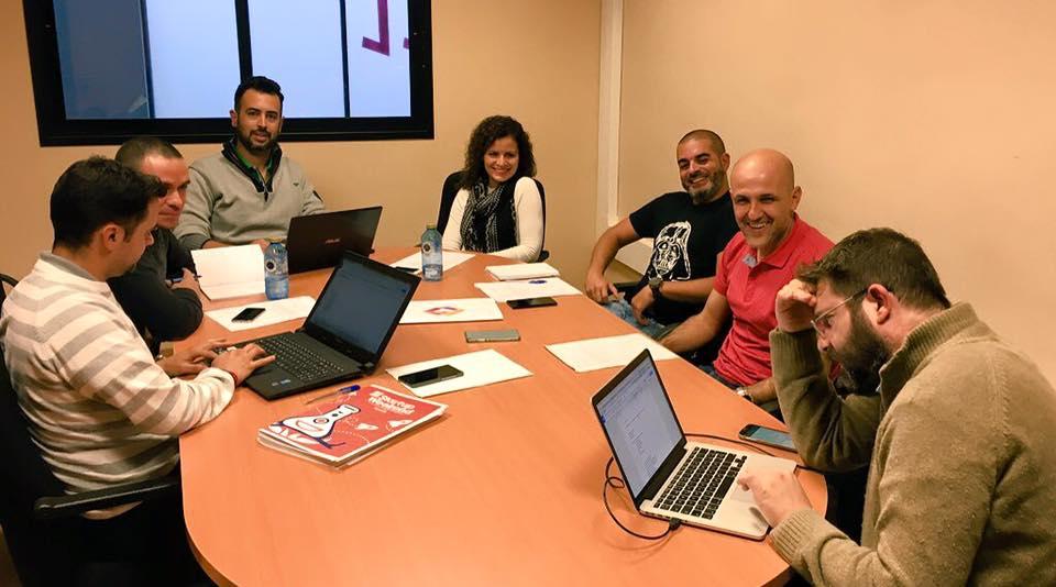 Reunión de preparación del Tenerife Startup Weekend 2016