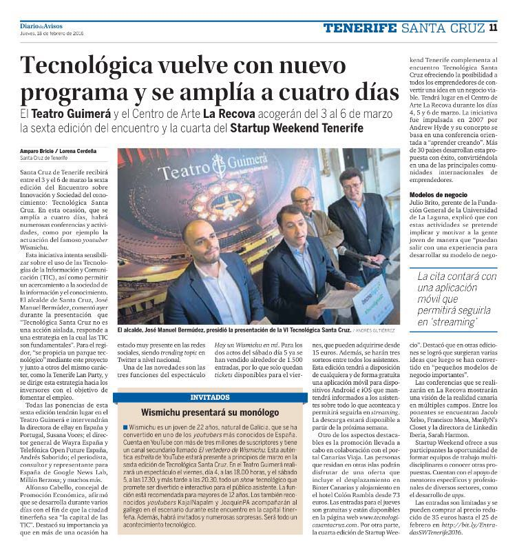 Jacob Xelso - Jacob Rodriguez Torres - Tecnológica Santa Cruz 2016
