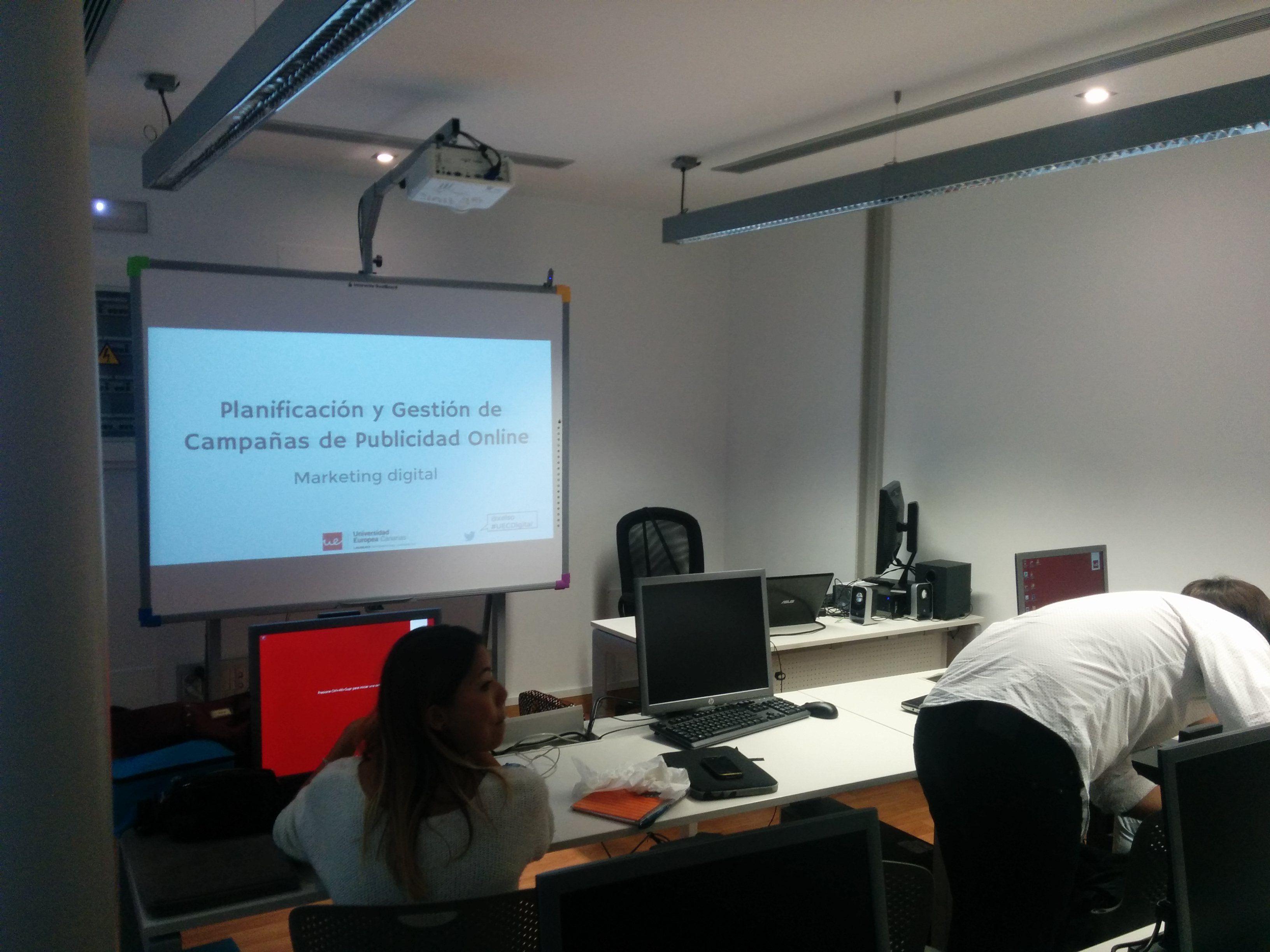Planificación y Gestións de Campañas de Publicidad Online - Universidad Europea de Canarias
