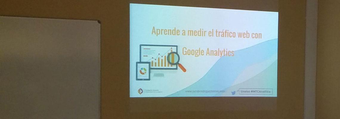 Curso de Google Analytics en Tenerife : Aprende a medir el tráfico web con Google Analytics
