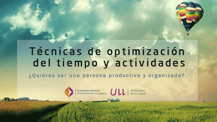 Curso de productividad - Aprende a gestionar las actividades y ahorrar tiempo - Técnicas de optimización del tiempo y actividades
