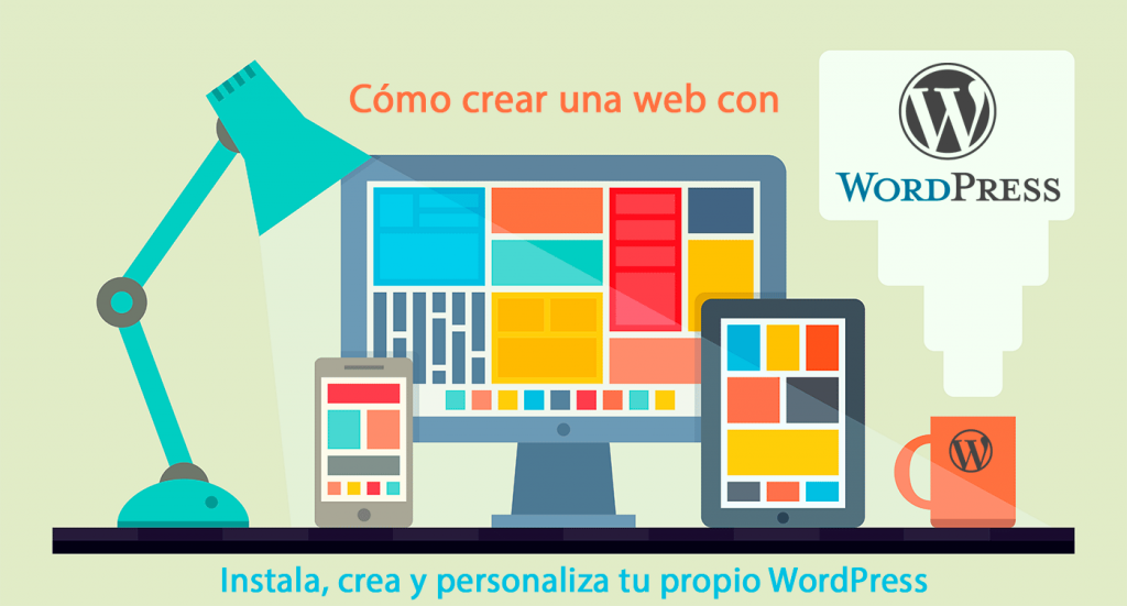 Como crear una página con WordPress - Curso Presencial en Tenerife