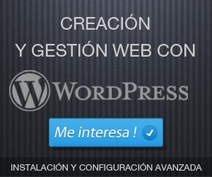 Curso práctico de creación y gestión web con WordPress