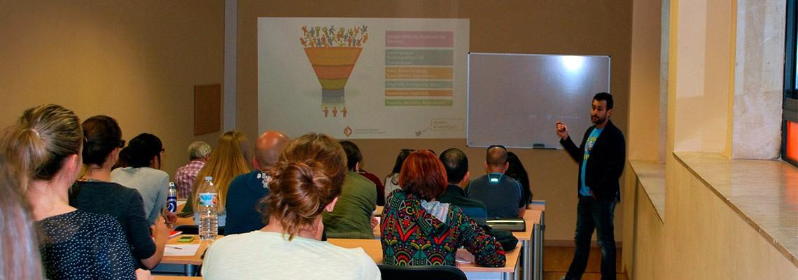 Sesión para emprendedores en la Fundación General de la Universidad de La Laguna