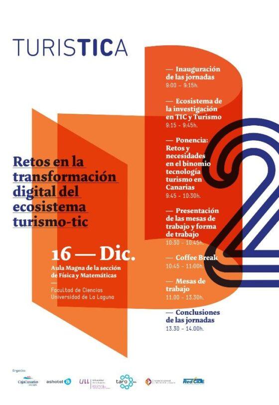 Retos de la transformación digital del ecosistema turismo-tic - cartel turistica2