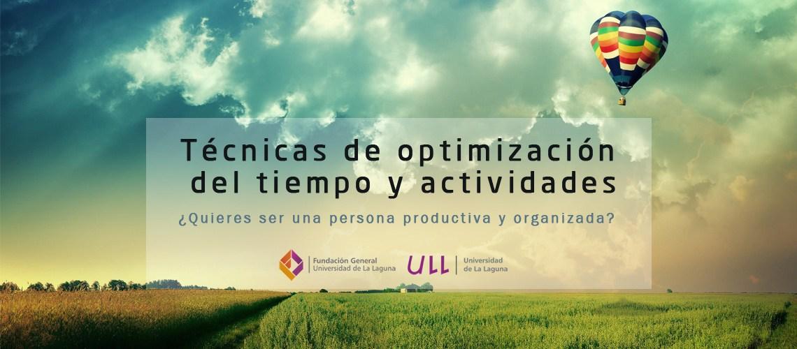 Curso online de gestión de actividades y optimización del uso del tiempo