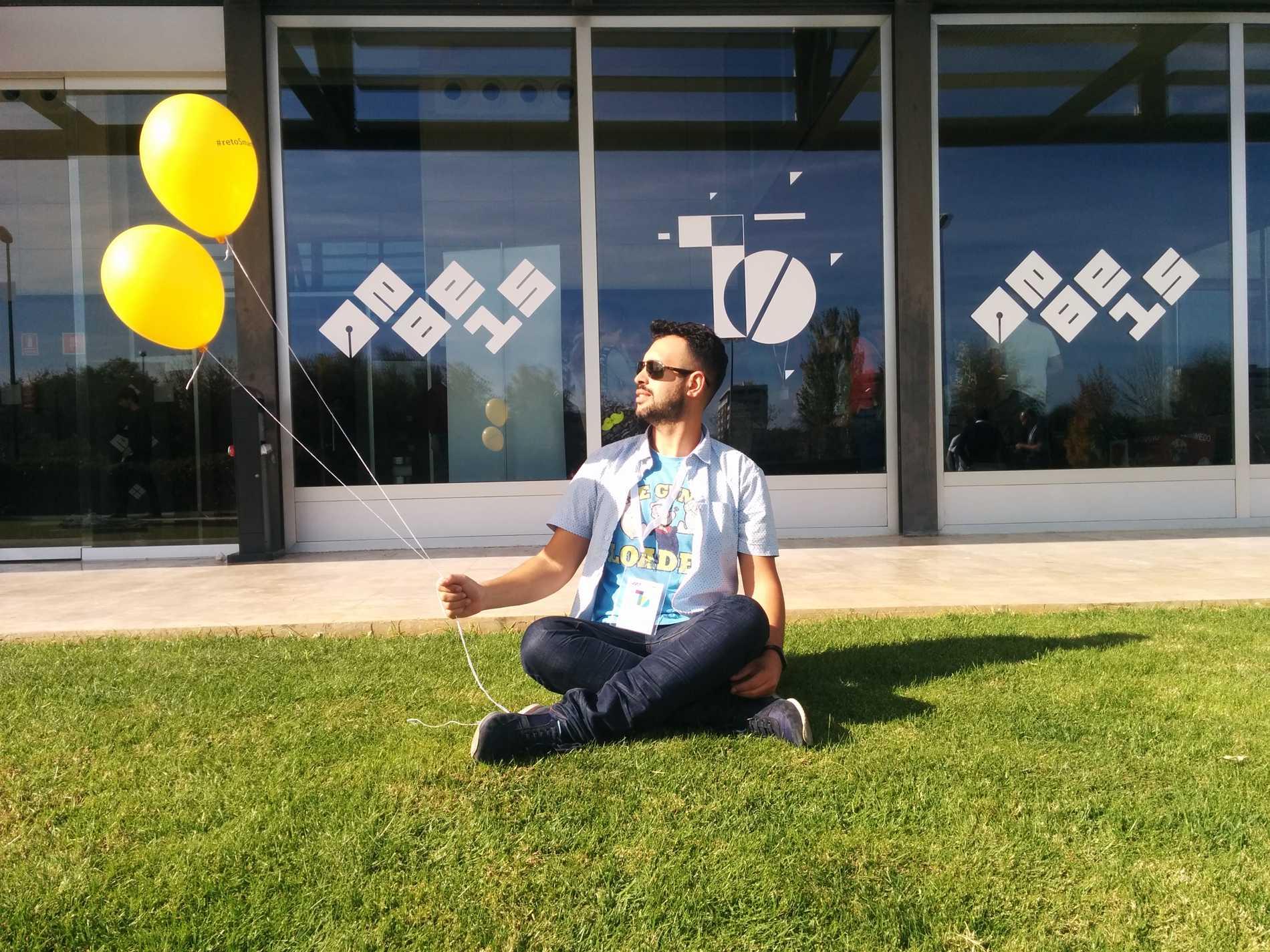 Jacob Rodríguez Torres - En EBE - Evento Blog 2015 - #EBE15