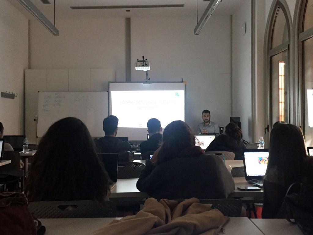 Jacob Rodriguez Torres - Master Class - Universidad Europea de Canarias - Comunicación Publicitaria