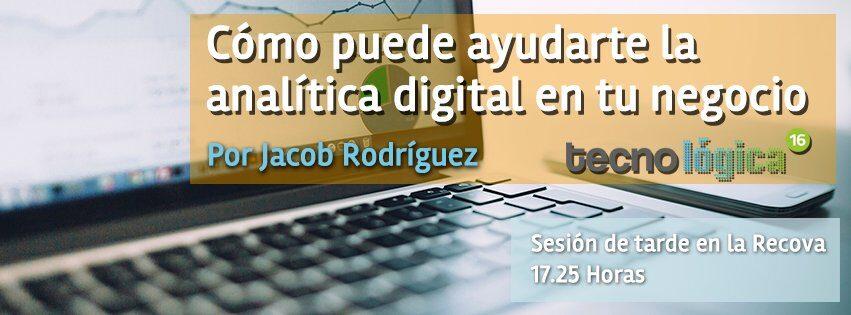 Cómo puede ayudarte la analítica digital en tu negocio  #TecnológicaSC