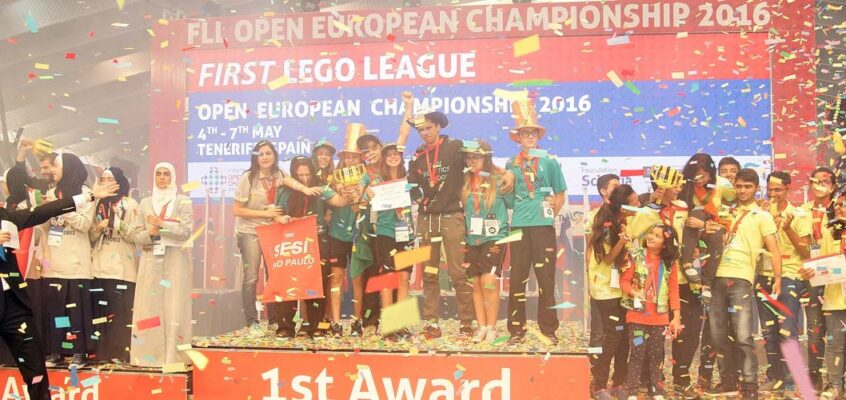 First Lego League Open European ChampionShip Tenerife 2016