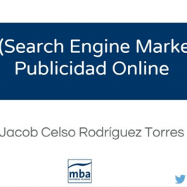 Experto en Marketing, Dirección Comercial + Ventas y Marketing Digital (MBC) – Publicidad Digital